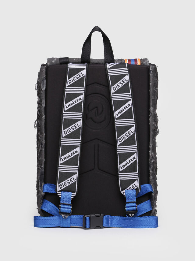 Diesel - M-INVICOLAB BACK III, Black - Backpacks - Image 2