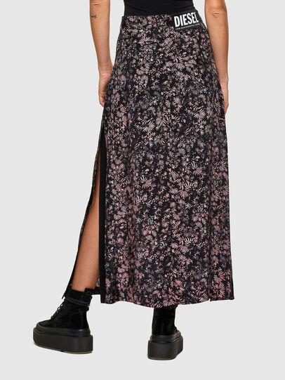Diesel - O-PALMS, Black/Pink - Skirts - Image 2