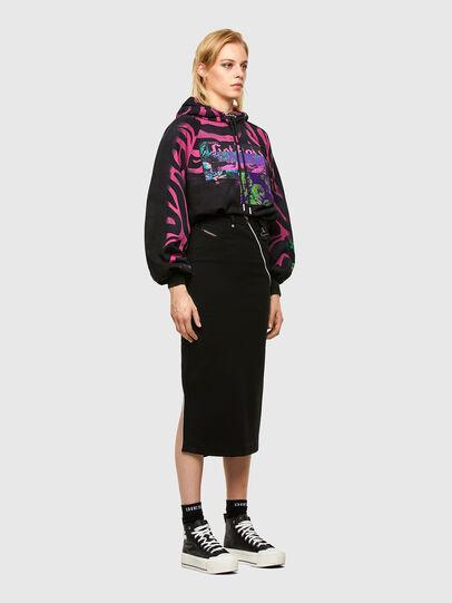 Diesel - O-CROSS, Black - Skirts - Image 6