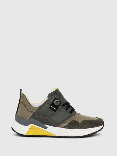 Diesel - S-BRENTHA LC, Military Green - Sneakers - Image 1