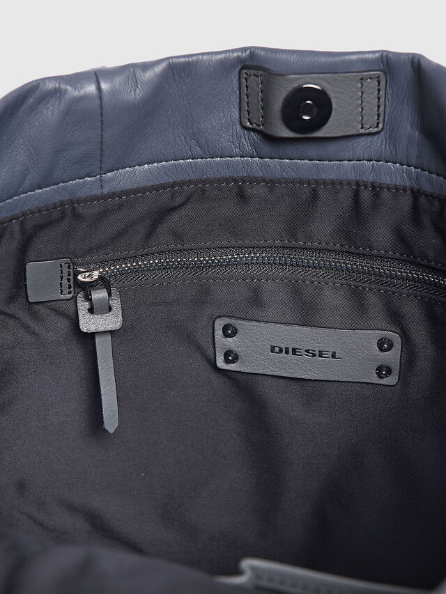 Diesel - MISS-MATCH SHOPPER, Grey - Shopping and Shoulder Bags - Image 4