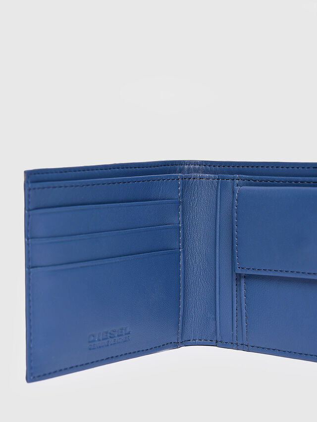 Diesel - HIRESH S, Light Blue - Small Wallets - Image 3
