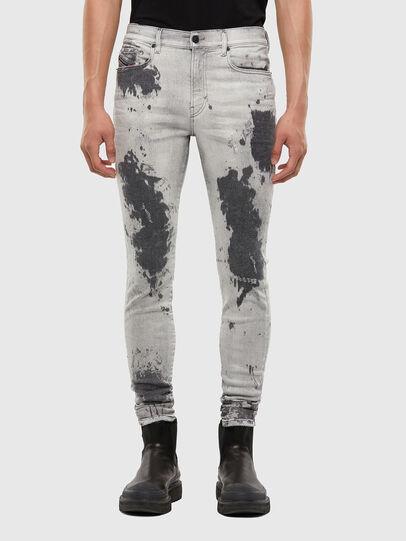 Diesel - D-Amny 009GM, Light Grey - Jeans - Image 1
