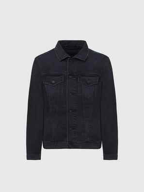 NHILL-SP4, Black - Denim Jackets