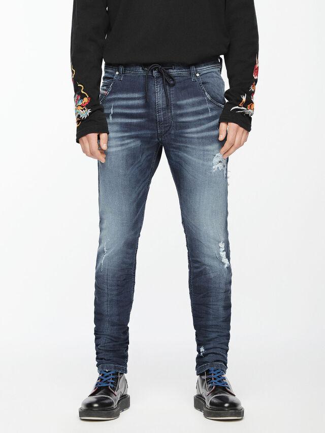 Diesel - Krooley JoggJeans 069CU, Medium blue - Jeans - Image 1