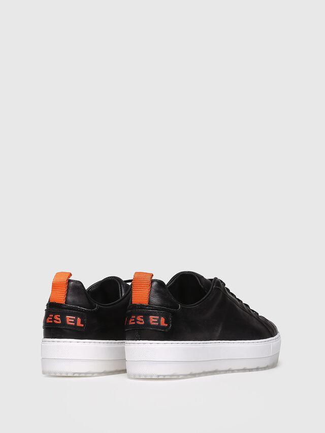 Diesel - S-LENGLAS LOW LACE, Black - Sneakers - Image 2