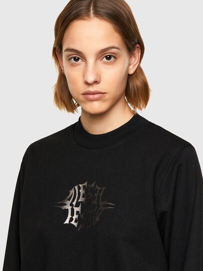 Diesel - F-ANG-K17, Black - Sweaters - Image 3