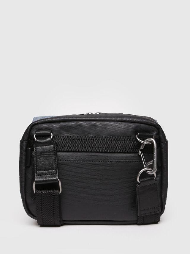 Diesel - D-SUBTORYAL SMALLCRO, Blue Jeans - Crossbody Bags - Image 2
