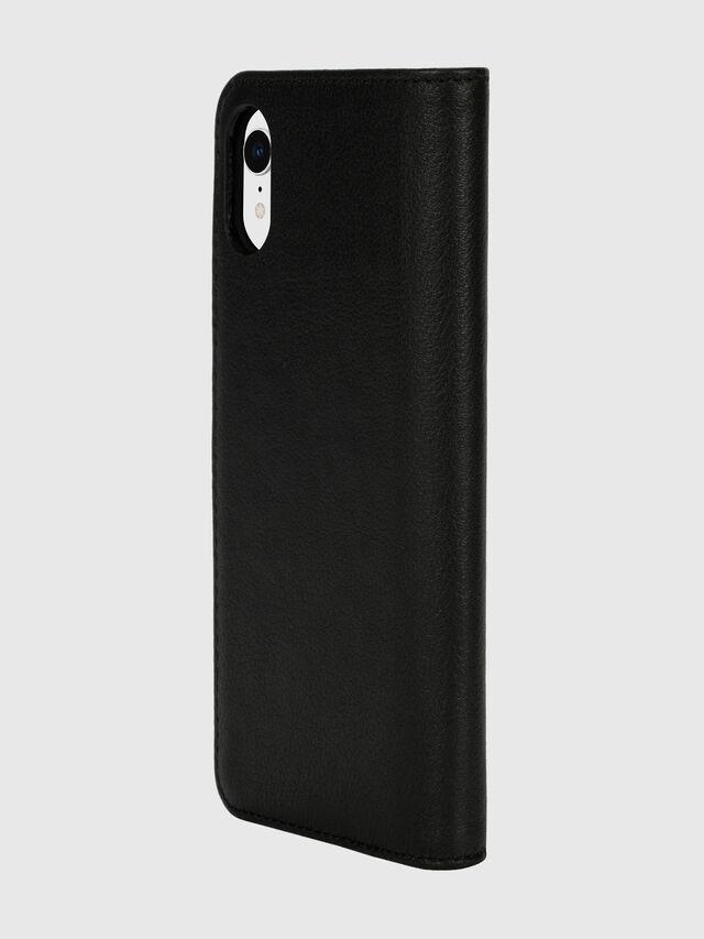 Diesel - DIESEL 2-IN-1 FOLIO CASE FOR IPHONE XR, Black/White - Flip covers - Image 5