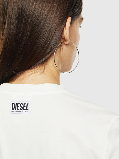 Diesel - T-SILY-YC, White - T-Shirts - Image 3