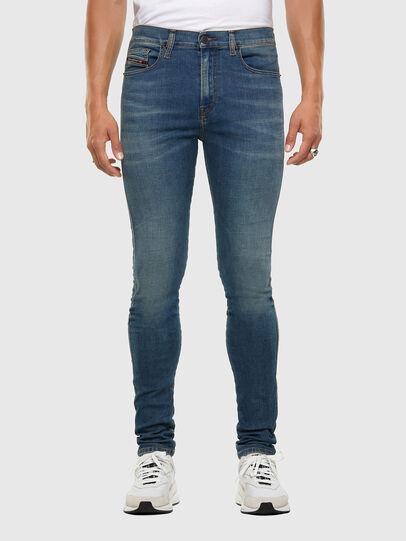 Diesel - D-Istort 009HC, Medium blue - Jeans - Image 1