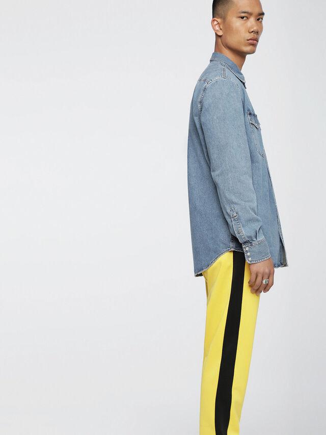 Diesel D-ROOKE, Blue Jeans - Denim Shirts - Image 3