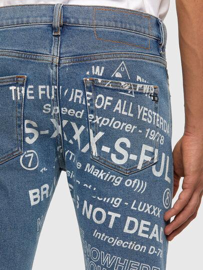 Diesel - D-Strukt 009DX, Light Blue - Jeans - Image 4