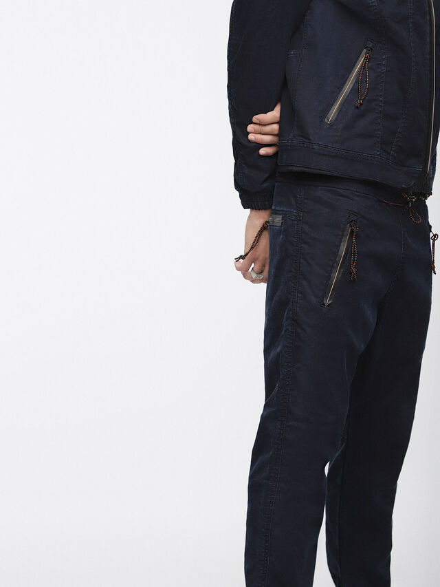 Diesel - Shaquil JoggJeans 0GASP, Dark Blue - Jeans - Image 5