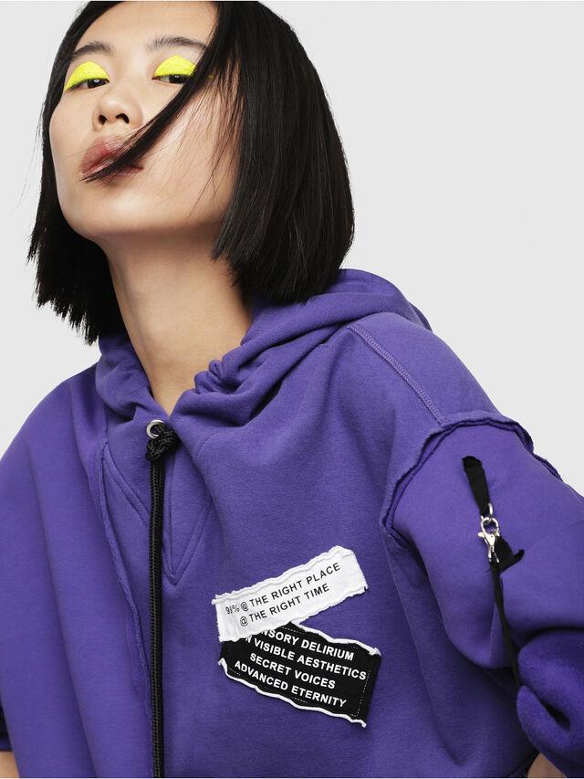 Diesel - F-MIKI, Violet - Sweaters - Image 3