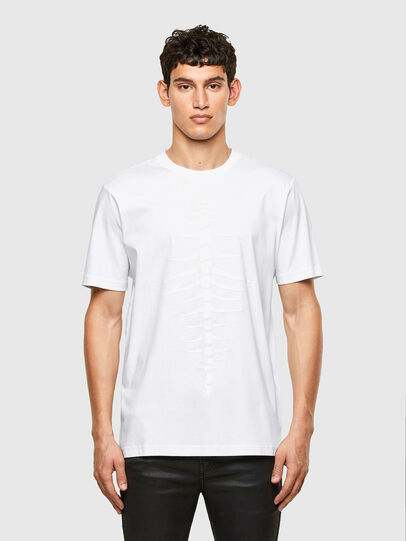 Diesel - T-JUST-A31, White - T-Shirts - Image 1