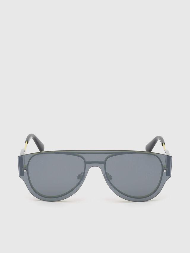 Diesel - DL0273, Black/Yellow - Eyewear - Image 1