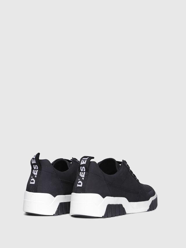Diesel - S-RUA LC, Black - Sneakers - Image 3