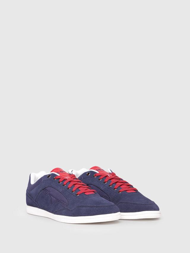 Diesel - S-HAPPY LOW, Navy Blue - Sneakers - Image 2