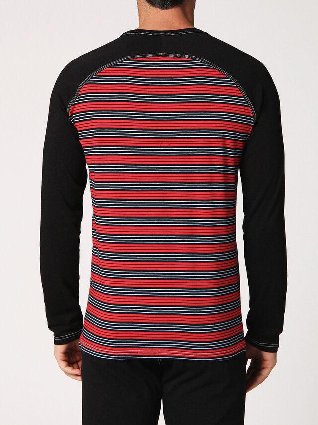 Diesel - UMLT-CASEY-J, Black/Red - T-Shirts - Image 2