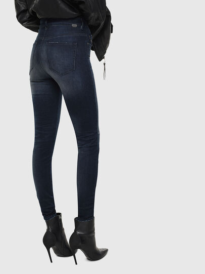 Diesel - Slandy High 0870C, Dark Blue - Jeans - Image 2