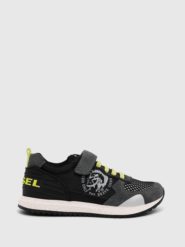 SN RUNNER 01 LC CH, Black/Grey - Footwear