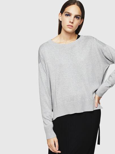 Diesel - M-PERLA, Grey - Knitwear - Image 1