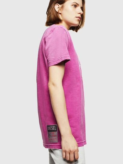Diesel - T-FLAVIA-IA, Pink - T-Shirts - Image 5