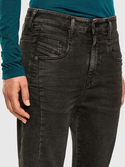 Diesel - Fayza JoggJeans 009HM, Black/Dark grey - Jeans - Image 3