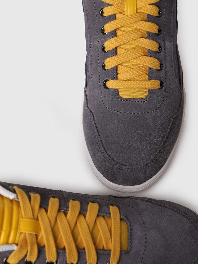 Diesel - S-HAPPY LOW, Grey - Sneakers - Image 4