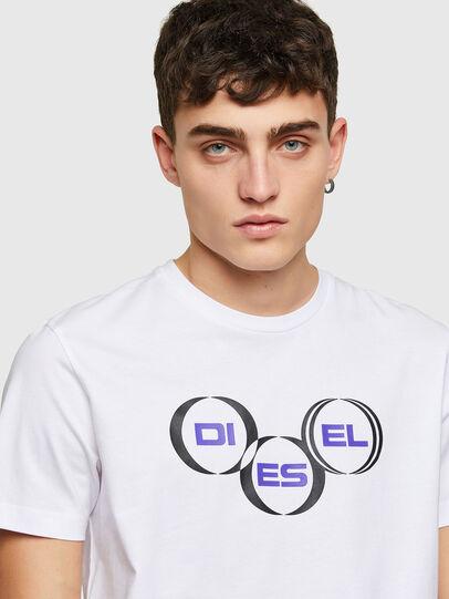 Diesel - T-DIEGOS-K39, White - T-Shirts - Image 3
