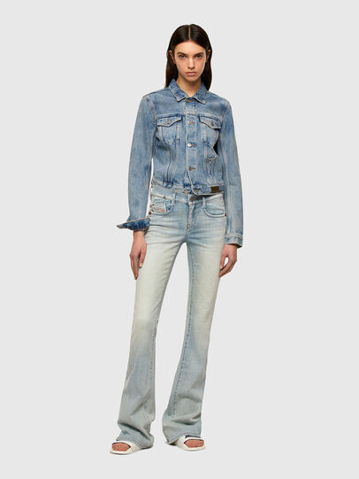 Diesel - DE-LIMMY, Light Blue - Denim Jackets - Image 5
