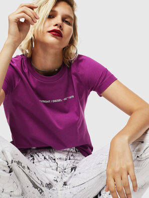 T-SILY-COPY, Violet - T-Shirts