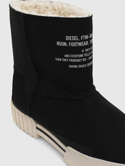 Diesel - H-MERLEY AB, Black - Ankle Boots - Image 4