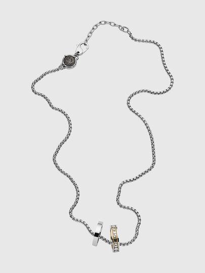 Diesel - DX1233, Silver - Necklaces - Image 1