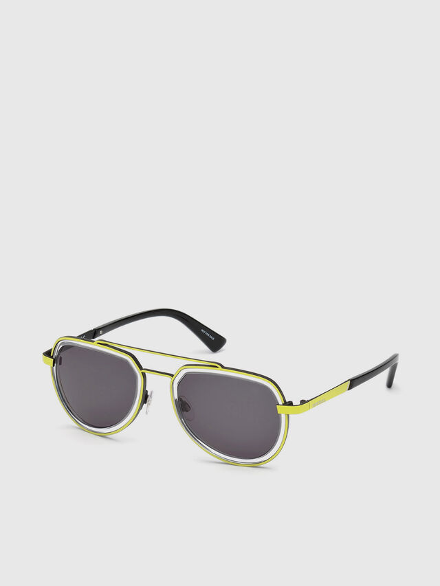 Diesel - DL0266, Yellow - Eyewear - Image 2