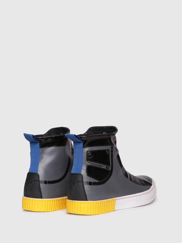 Diesel - S-DIESEL IMAGINEE MID, Gray/Black - Sneakers - Image 3