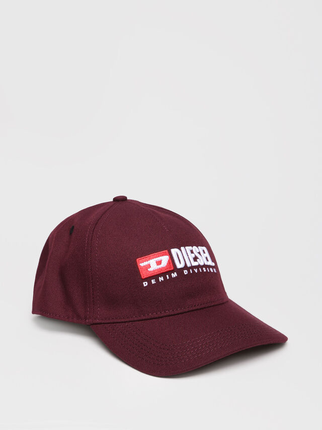 Diesel - CAKERYM-MAX, Burgundy - Caps, Hats and Gloves - Image 1