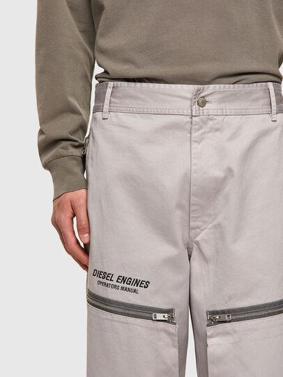 Diesel - P-AMBRIDGE-A, Light Grey - Pants - Image 5