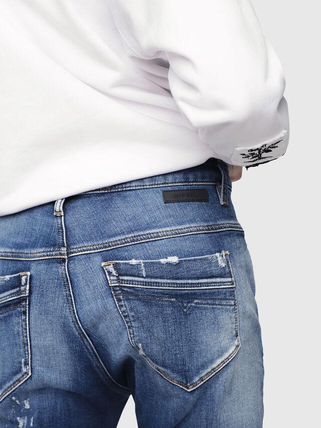 Diesel - Fayza JoggJeans 087AK, Dark Blue - Jeans - Image 3