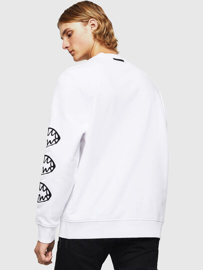 Diesel - SNEILB-X1, White - Sweaters - Image 2