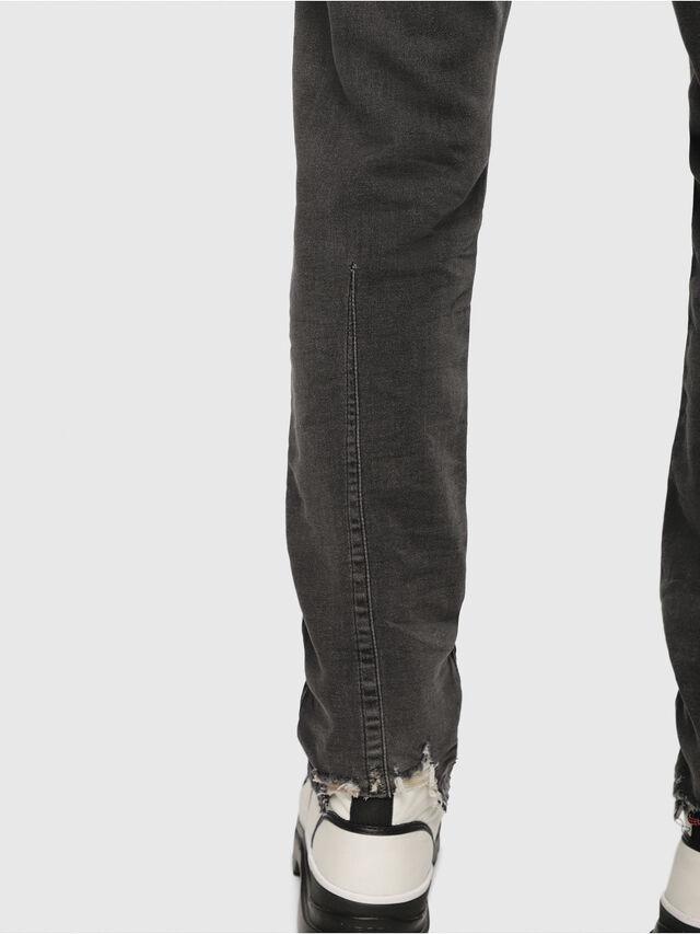 Diesel - Krooley JoggJeans 069EM, Black/Dark grey - Jeans - Image 3