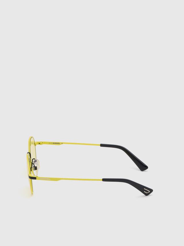 Diesel - DL0290, Yellow - Eyewear - Image 3