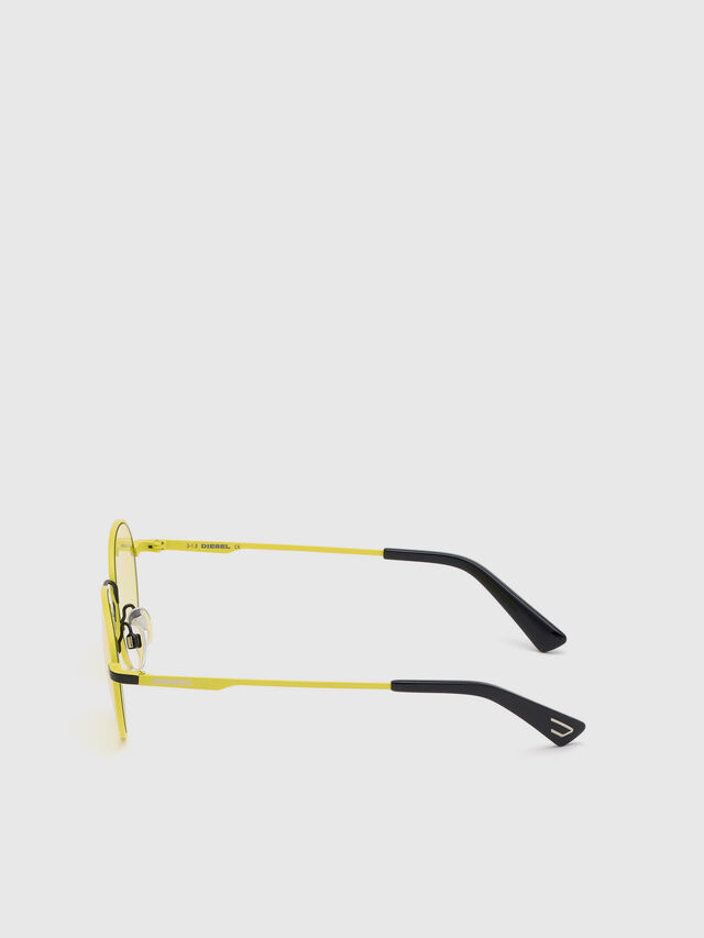 Diesel - DL0290, Yellow - Sunglasses - Image 3