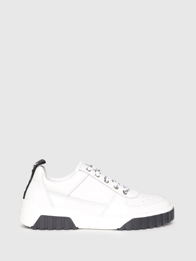 Diesel - S-RUA LC W, White - Sneakers - Image 1