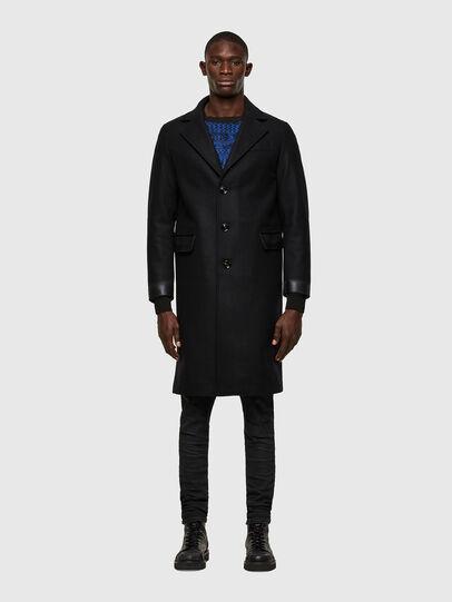 Diesel - W-COLBAX, Black - Winter Jackets - Image 1