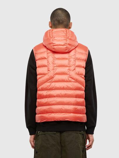 Diesel - W-DWAIN-SL, Pink - Winter Jackets - Image 2