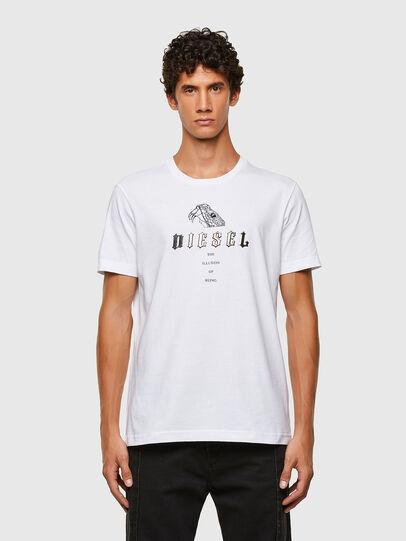Diesel - T-DIEGOS-N30, White - T-Shirts - Image 1