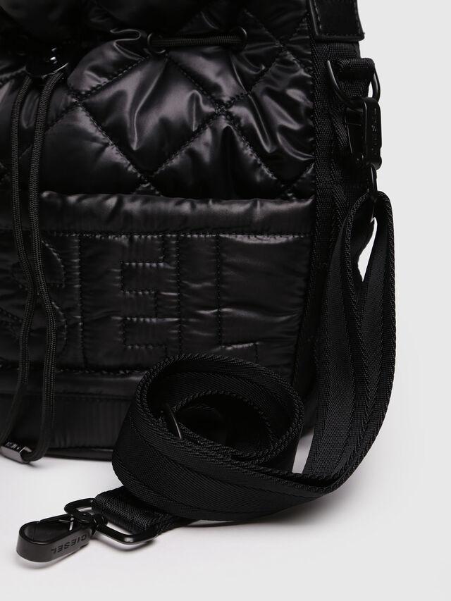 Diesel - NYDUVET BUCKET, Black - Crossbody Bags - Image 3