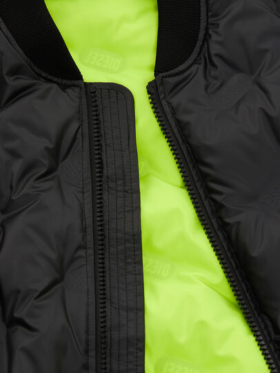 Diesel - W-ON-THERMO, Black - Winter Jackets - Image 3